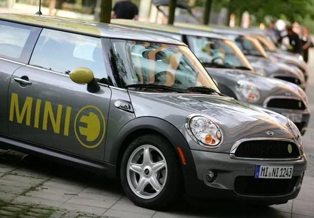 Mini E, um dos modelos da marca na Rio+20 (Foto: Divulgação)