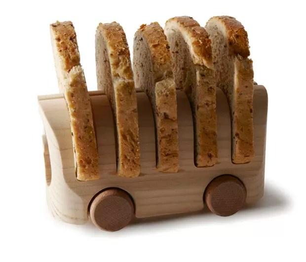 """""""Gostaria de uma fatia de pão"""", de Tomoko Azumi (Foto: Divulgação)"""
