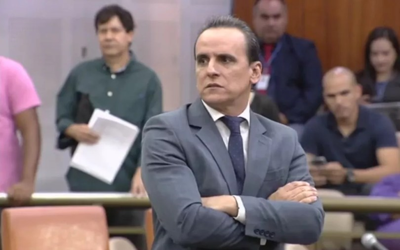Vereador Zander Fábio (PEN) é afastado do cargo após decisão judicial (Foto: Reprodução/TV Anhanguera)