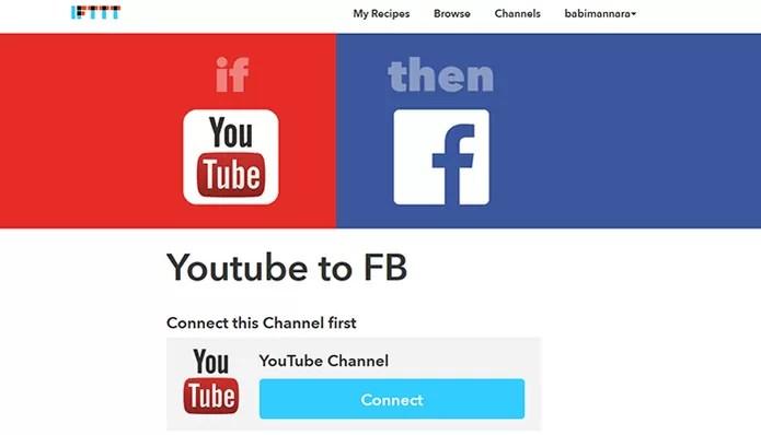 Veja 20 ferramentas IFTTT para ações do YouTube (Foto: Reprodução/Barbara Mannara)