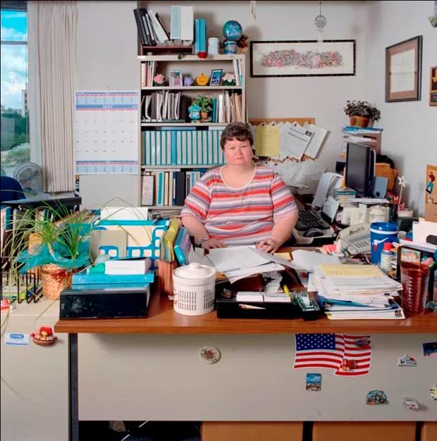 Escritório nos Estados Unidos (Foto: Jan Banning/Divulgação)