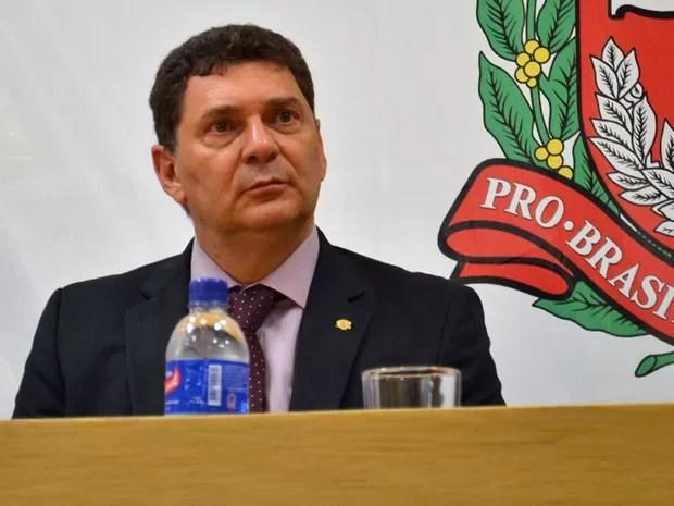 Delegado geral Youssef Abou Chahin (Foto: Rodrigo Paneghine/Divulgação/SSP-SP)