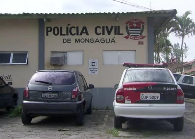 Caso foi registrado na Delegacia de Mongaguá, SP (Foto: G1 )
