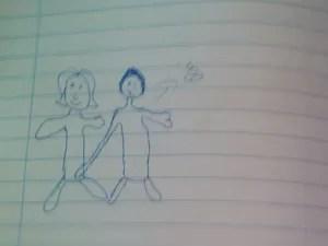 Menor fez denúncia por meio de desenho (Foto: Divulgação/ Polícia Civil)