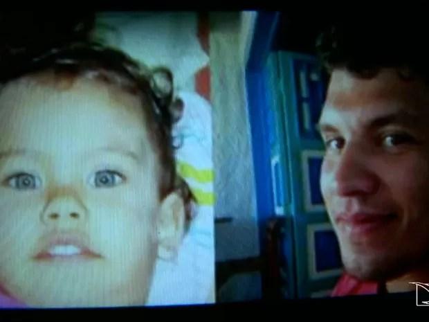 Criança desapareceu após uma visita feita pelo o pai em Pernambuco (Foto: Reprodução/TV Mirante)