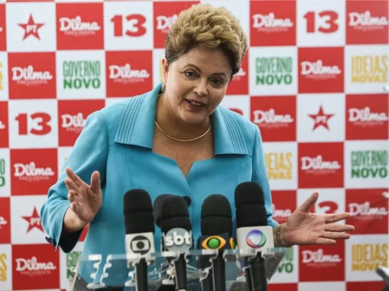 No Dia das Crianças, Dilma visita centro educacional no bairro de Guaianases, em São Paulo (Foto: Rosanne D'Agostino / G1)