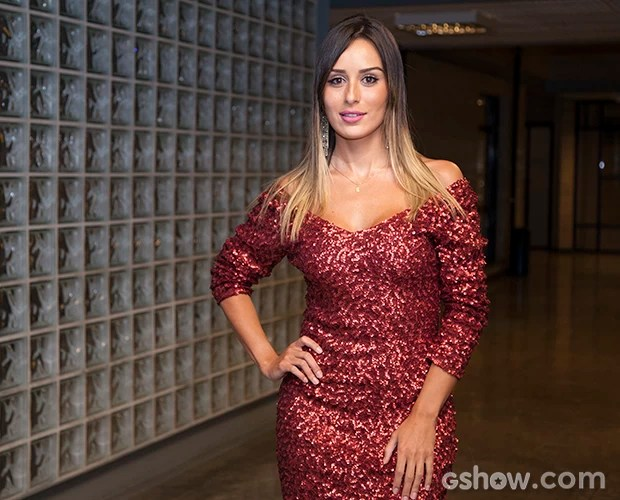 leticia; coletiva; galeria;  (Foto: Fabiano Battaglin / TV Globo)