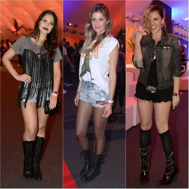 Jessika Alves, Ellen Jabour e Natallia Rodrigues