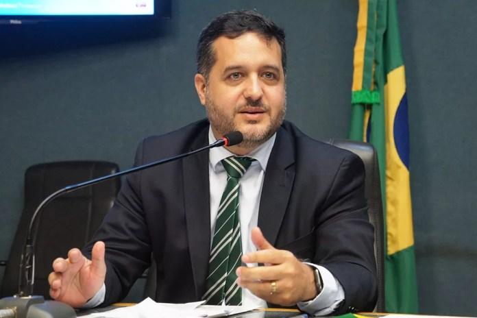 Gandini, candidato a prefeito pelo Cidadania  — Foto: Ellen Campanharo/Ales