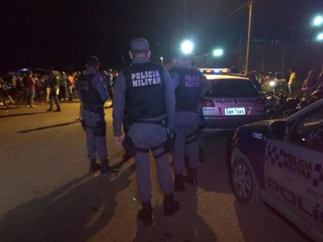 Homicídio ocorreu no Centro de Tradições Nordestinas (CTN) da cidade de Sorriso (Foto: MT Notícias)