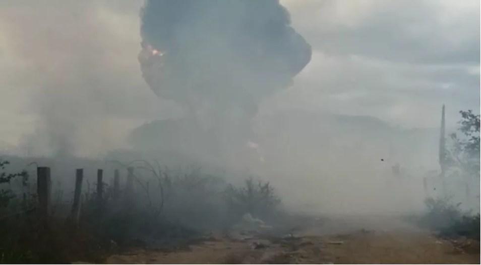 Caminhão-tanque do Ibama foi incendiado em julho — Foto: Reprodução