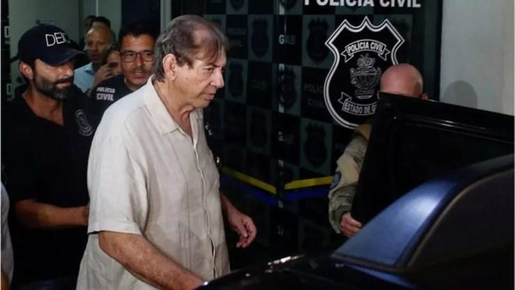 João de Deus se entregou à polícia no domingo, 16 de dezembro  — Foto: Reuters