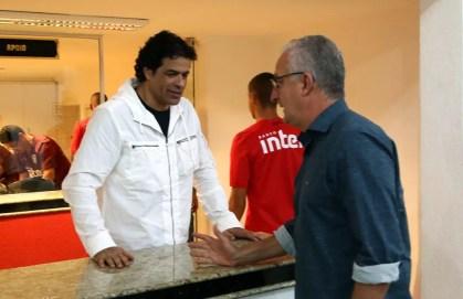 Raí defendeu Dorival Júnior em reunião do Conselho do São Paulo (Foto: Rubens Chiri / saopaulofc.net)
