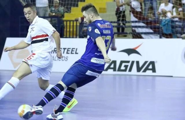 Gadeia Orlândia São Paulo Liga Nacional de Futsal (Foto: Márcio Damião/Divulgação)
