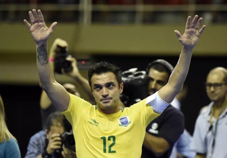 Falcão completa 20 anos de seleção brasileira em 2018  (Foto: André Durão)