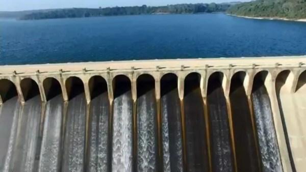 SAAE de Sorocaba adotou medida de levar água represa de Itupararanga para região dos bairros do Éden e Cajurú (Foto: Reprodução/TV TEM)