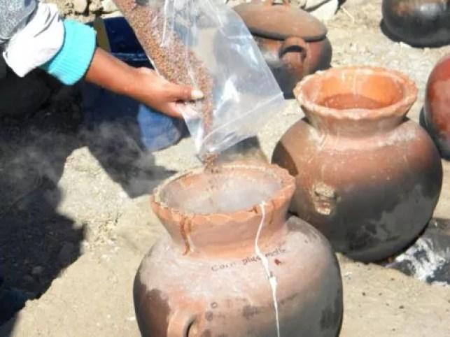 """Em parceria com fabricantes de cerveja peruanos, pesquisadores reconstituíram a fabricação da """"chucha"""", que era consumida pela sociedade do império de Tiauanaco-Huari  (Foto: Museu Field de História Natural de Chicago)"""