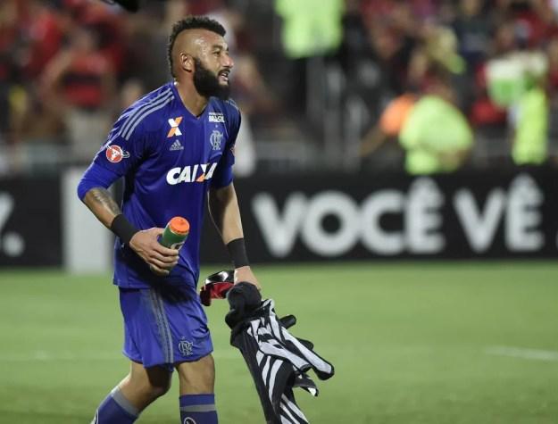Muralha não teve boa passagem pelo Flamengo (Foto: André Durão)