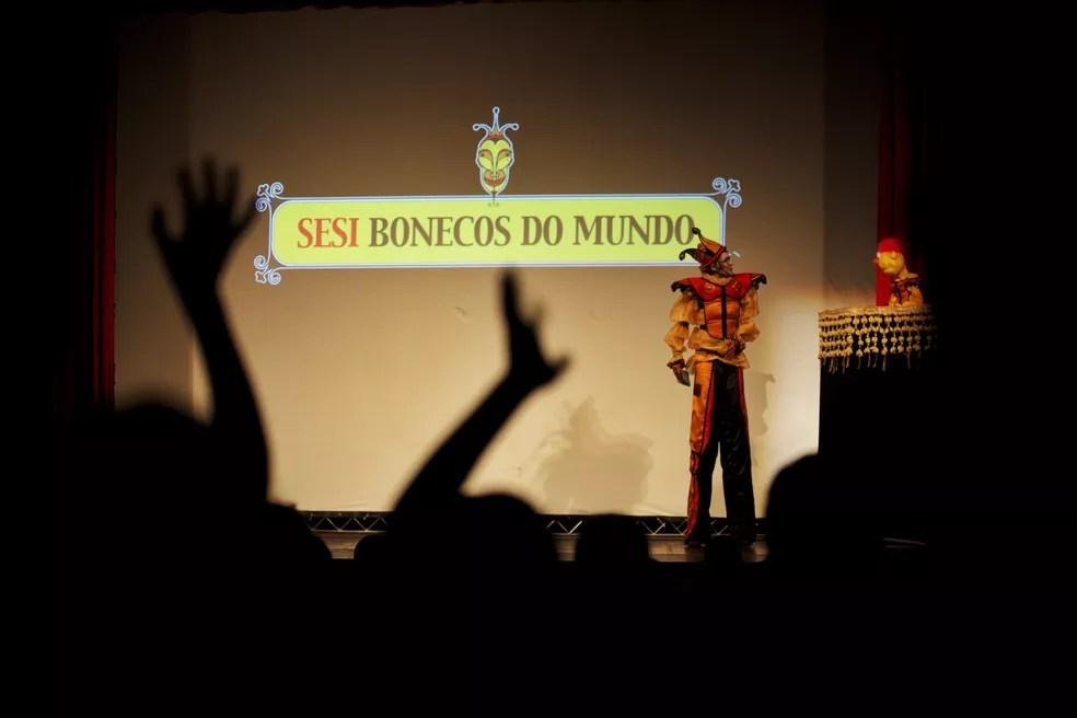 Festival Sesi Bonecos do Mundo — Foto: Beto Figueiroa/Divulgação