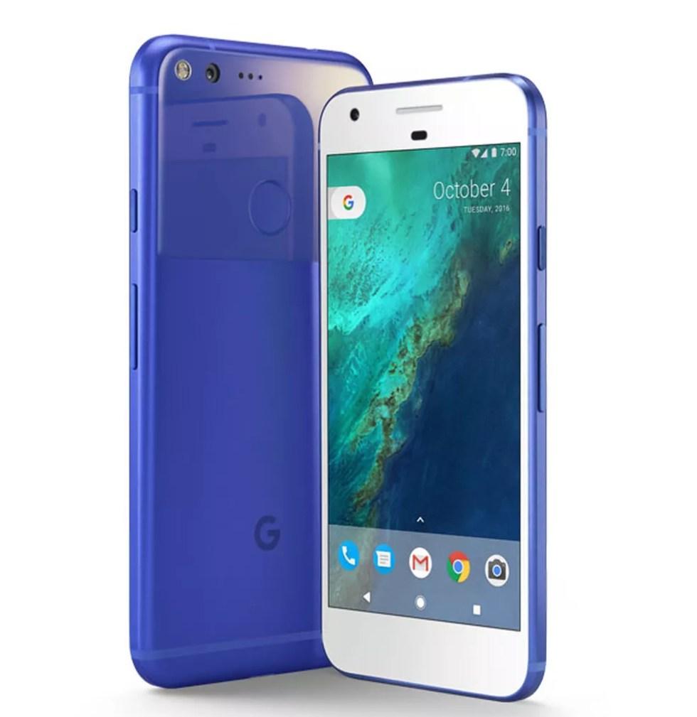 Pixel, smartphone do Google, que substitui a linha Nexus. (Foto: Divulgação/Google)