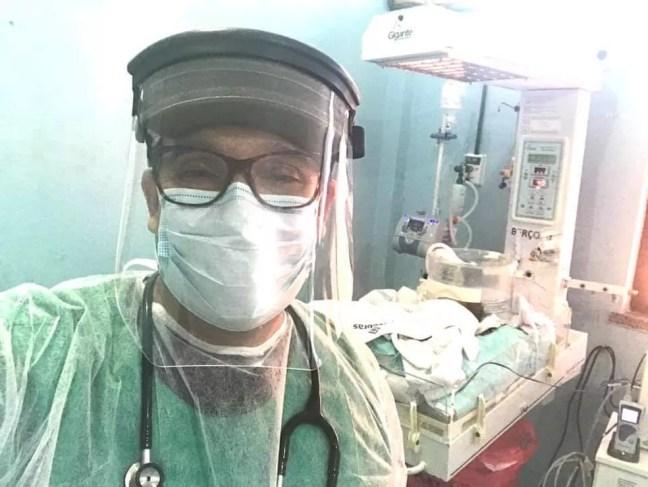 Pediatra Nivaldo Júnior tinha 52 anos — Foto: Reprodução
