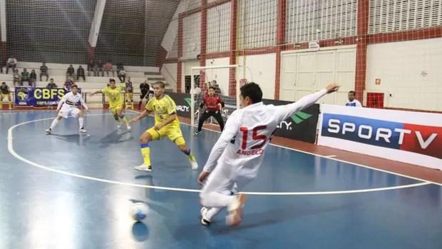 São Paulo/ Suzano São José Liga Futsal (Foto: Thiago Fidelix)