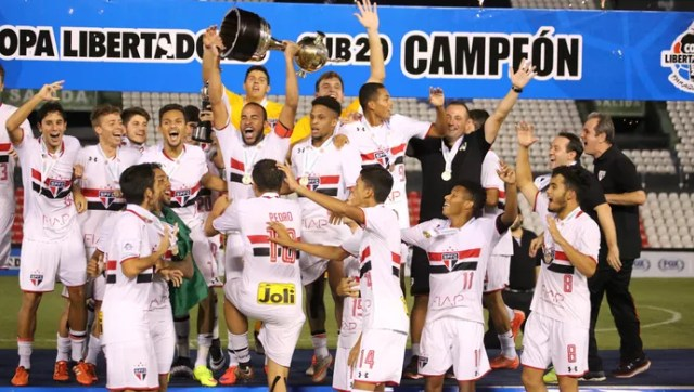 São Paulo Libertadores Sub-20 Banguelê (Foto: Igor Amorim/saopaulofc.net)