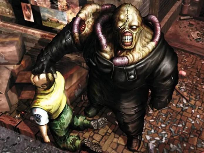 Resident Evil tem em Nemesis uma de suas principais figuras (Foto: Divulgação/Capcom)