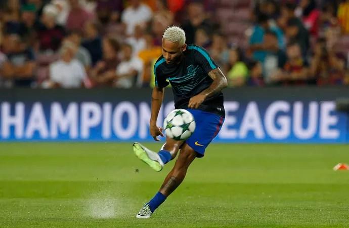 Neymar, Barcelona x Celtic (Foto: Reuters)