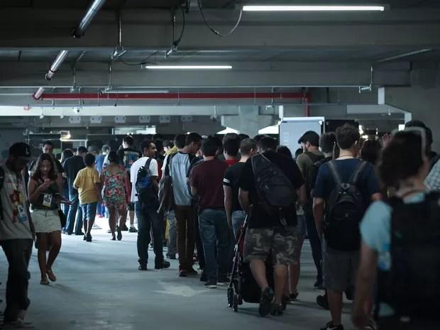 Comic Con Experience abre para fãs nesta quinta-feira em São Paulo (Foto: Caio Kenji/G1)
