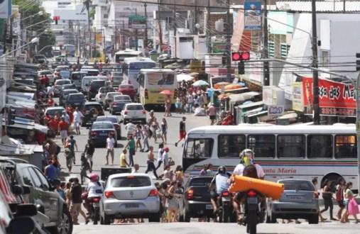 Comércio do Alecrim, um dos polos mais importantes da capital potiguar, não vai funcionar neste feriado  (Foto: Canindé Soares)
