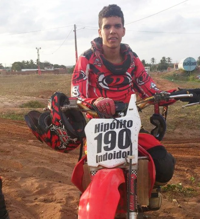 Edjarde Hipólito se destacava no motocross do Rio Grande do Norte, segundo os amigos — Foto: Reprodução