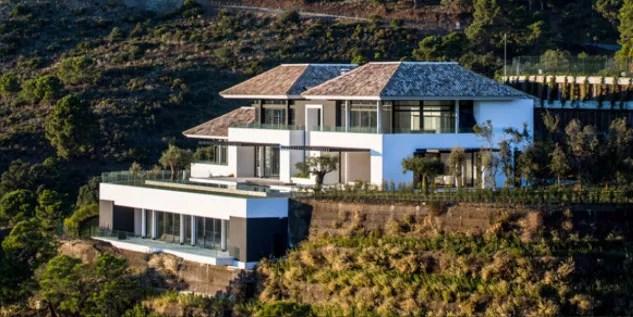 Casa de Cristiano Ronaldo em Mlaga na Espanha