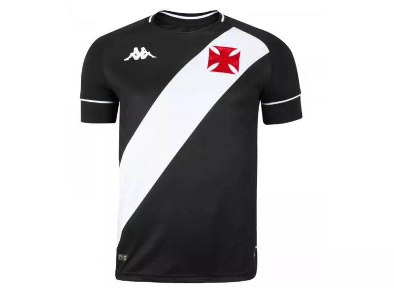 Nova camisa preta do Vasco — Foto: Reprodução