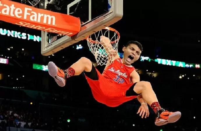 Thiago Silva basquete