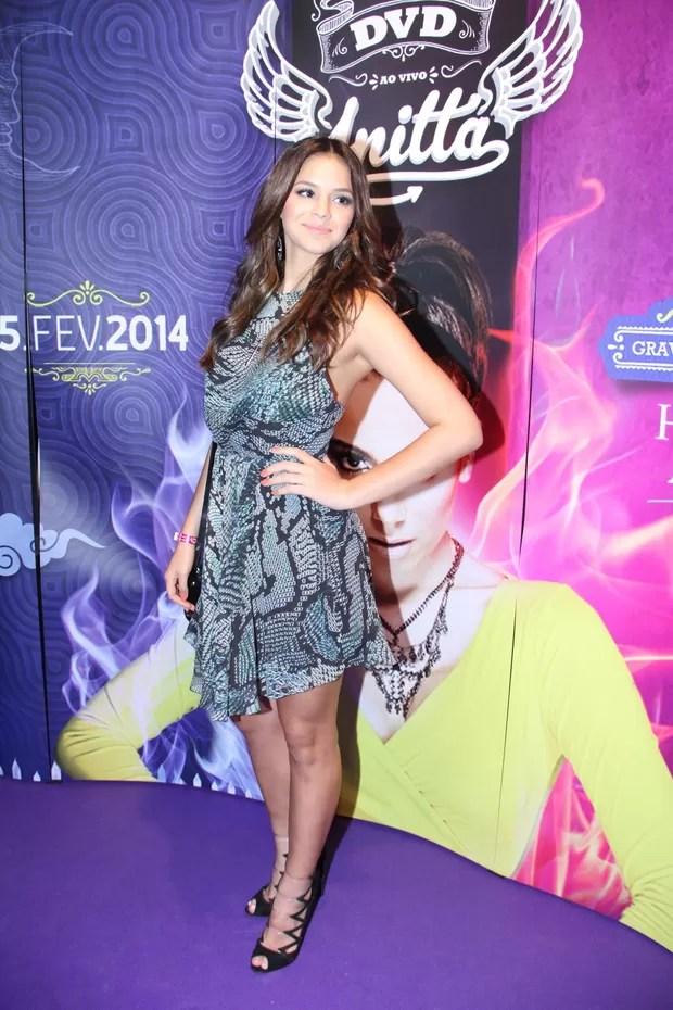 Bruna Marquezine no show da Anitta (Foto: Graça Paes e Thyago Andrade/ Foto rio News)