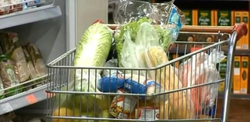 Preço da cesta básica acumula alta de 9% no primeiro semestre em Natal, aponta Dieese — Foto: Reprodução/NSC TV