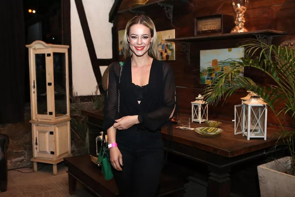 Paolla Oliveira elogiou elenco (Foto: Isabella Pinheiro/Gshow)