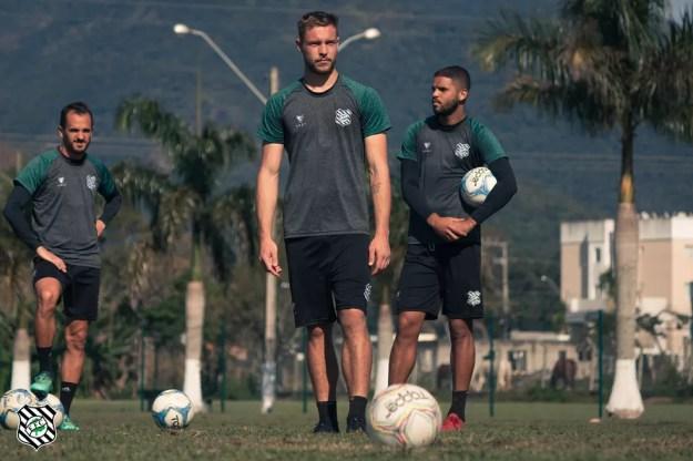 Pedro Lucas estava no Figueirense — Foto: Patrick Floriani/FFC