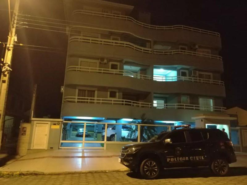 Crime ocorreu na casa de oficial de cartório (Foto: Polícia Civil/Divulgação)