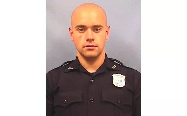O ex-policial Garrett Rolfe, acusado de matar a tiros Rayshard Brooks, em foto divulgada pela polícia de Atlanta — Foto: Atlanta Police Department via AP
