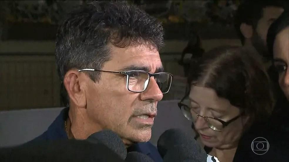 Pai de Gabriel Diniz, Cizinato Diniz.  — Foto: TV Globo/Reprodução