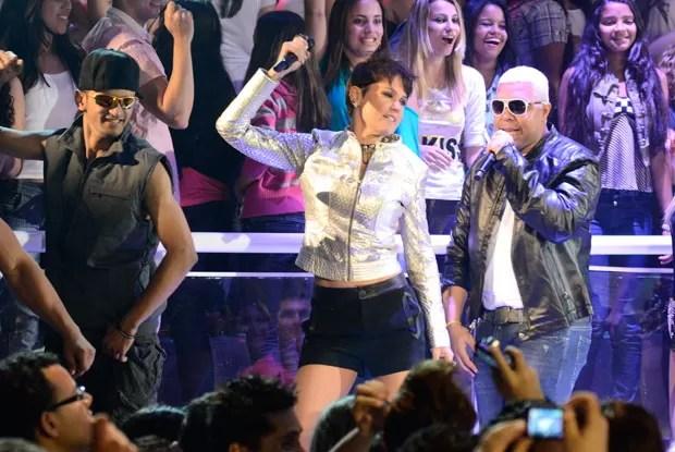 Xuxa se entrega ao batidão! (Foto: TV Xuxa/TV Globo)