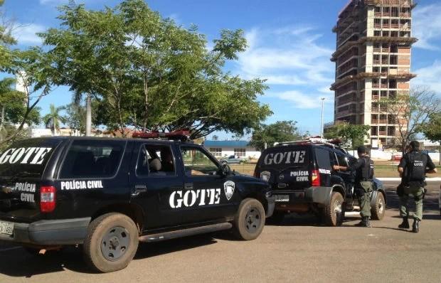 Polícia Civil cumpre 7 mandados de prisão e 14 de busca e apreensão (Foto: Jesana de Jesus/G1)