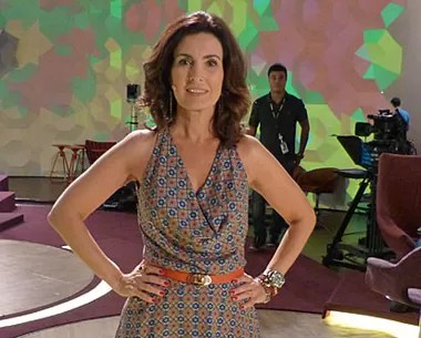 Look do dia 23/01 (Foto: Encontro com Fátima Bernardes/ TV Globo)
