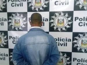 Mensagens no celular do suspeito comprovam crime em Uruguaiana, RS (Foto: Divulgação/Polícia Civil)