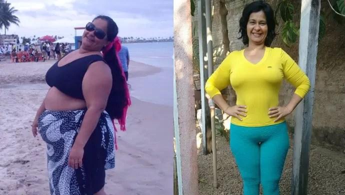 Ivani Cantanhede, perdeu 100 kg em Porto Velho (Foto: Ivani/ Arquivo pessoal)