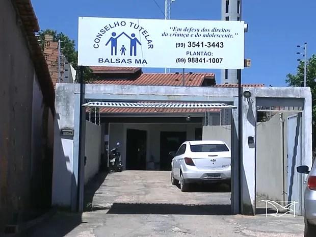 Criança de onze meses está sob os cuidados do Conselho Tutelar de Balsas (MA) (Foto: Reprodução / TV Mirante)