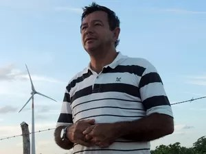 Luzivan Venância já pensa nos benefícios que a energia solar pode trazer no RN (Foto: Felipe Gibson/G1)