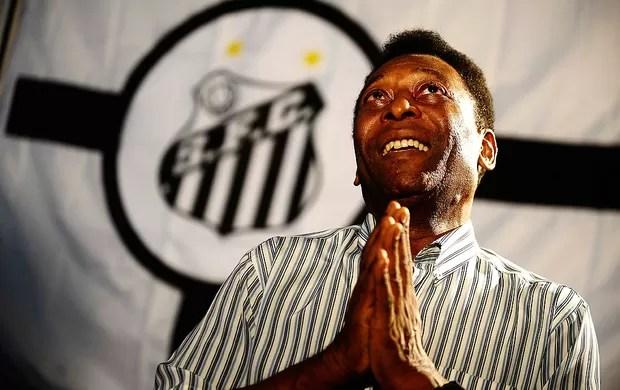 Pelé Santos especial centenário (Foto: Marcos Ribolli / Globoesporte.com)